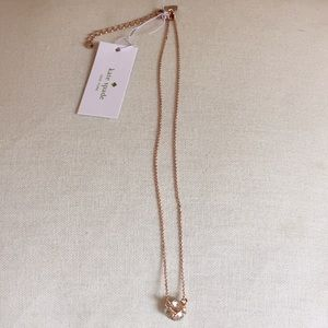 NWT Kate Spade lady marmalade necklace!